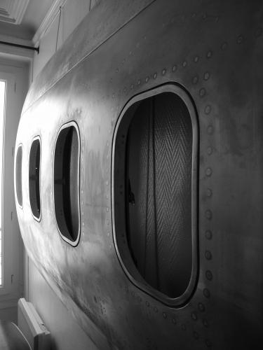 Panneau 4 hublots Boeing 737-300 pic 1.JPG