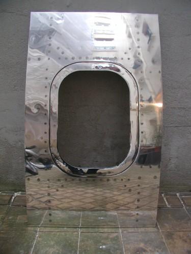 Hublot Boeing 707 poli miroir 6O-SBN photo 1.JPG